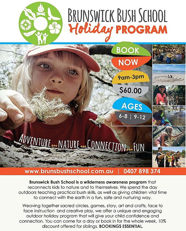 holiday program flyer